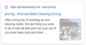 Az metro hauling best pricing Maricopa County AZ