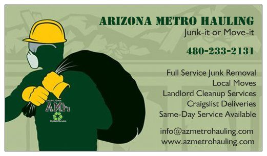 Junk Removal 480-233-2131